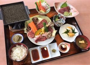 那賀肉祭り御膳1